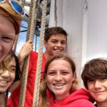 Kids at LAMI Catalina Sea Camp