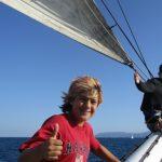 Sailing to Catalina for LAMI Sea Camp