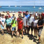 Island hike at LAMI Seacamp